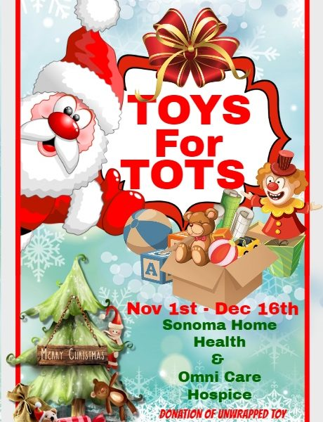 Omni Hopsice Care Toys for Tots Drive