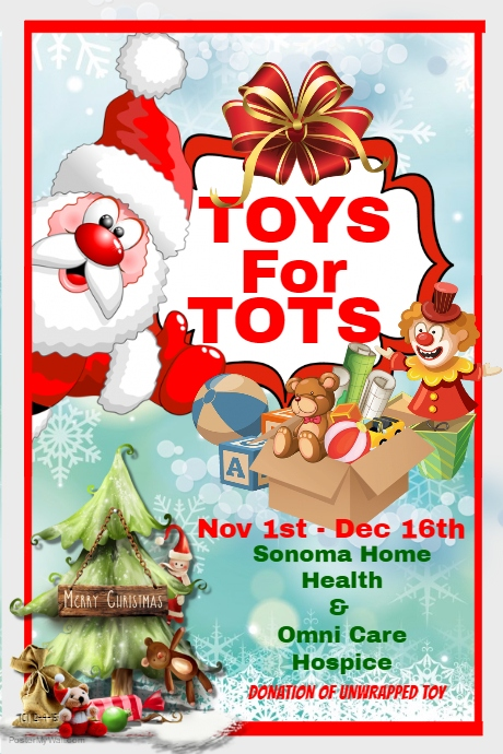 Omni Care Hospice Toys for Tots Drive