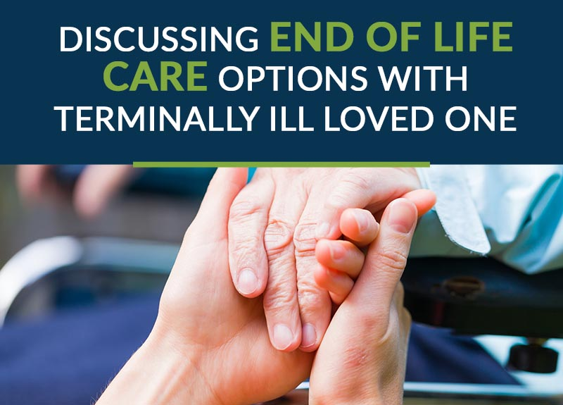 discussing end of life care options with terminally ill loved one