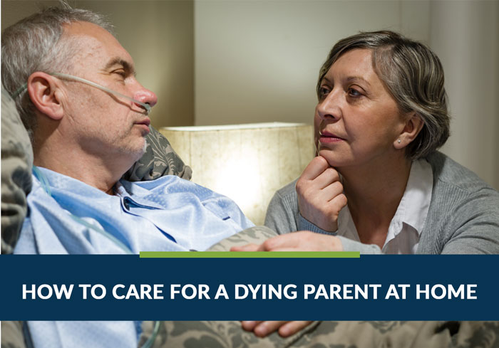 care for dying parent