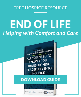 Download Our Comfort and Care Hospice Guide