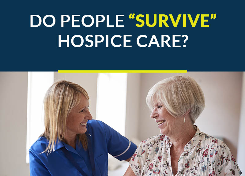 "can people ""survive"" hospice care?"