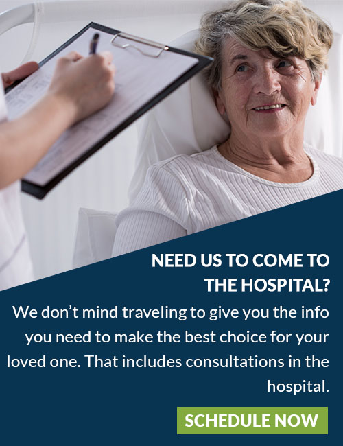 schedule a hospital consultation