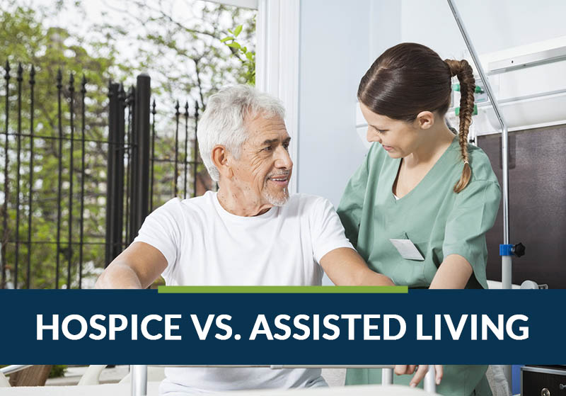 hospice vs. assisted living